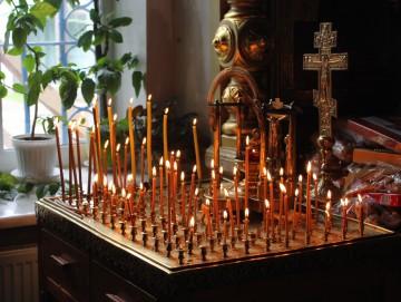 Свечи на кануне