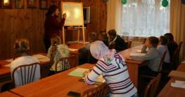 Урок церковнославянского языка