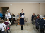 Ученица воскресной школы София Прохорова