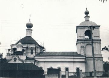 Вид храма в 1989 году
